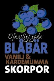 Blåbär, vanilj & kardemummaskorpor
