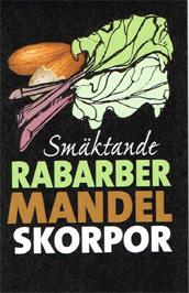 Rabarber & mandelskorpor